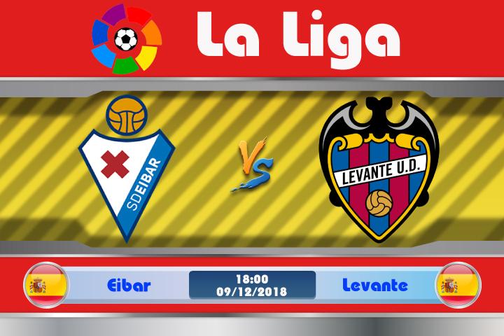 Soi kèo Eibar vs Levante 18h00 ngày 09/12: The Frogs có nhiều lợi thế