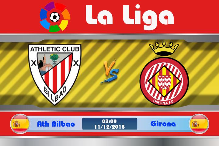 Soi kèo Ath Bilbao vs Girona 03h00 ngày 11/12: Thời thế thay đổi