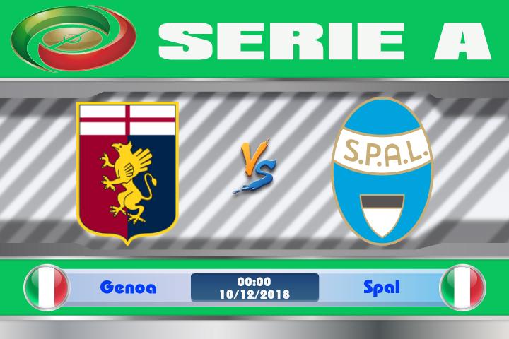 Soi kèo Genoa vs Spal 00h00 ngày 10/12: Không quá vượt trội