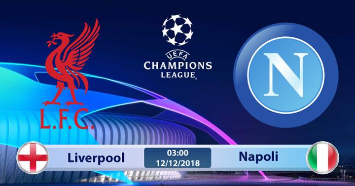 Soi kèo Liverpool vs Napoli 03h00 ngày 12/12: Trận đấu sinh tử