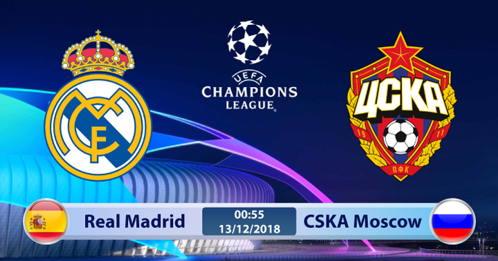 Soi kèo Real Madrid vs CSKA Moscow 00h55 ngày 13/12: Cái giá phải trả