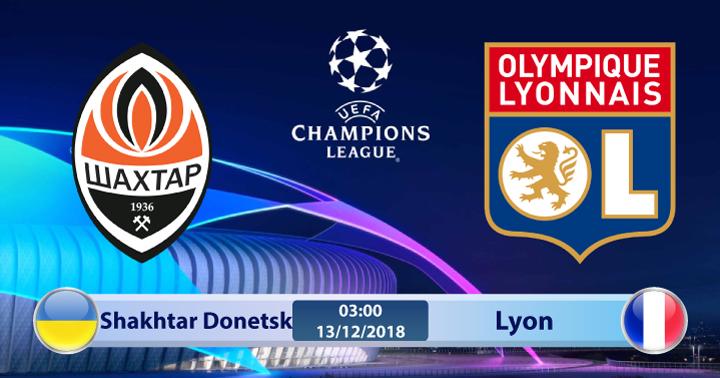 Soi kèo Shakhtar Donetsk vs Lyon 03h00 ngày 13/12: Chỉ cần kết quả hòa