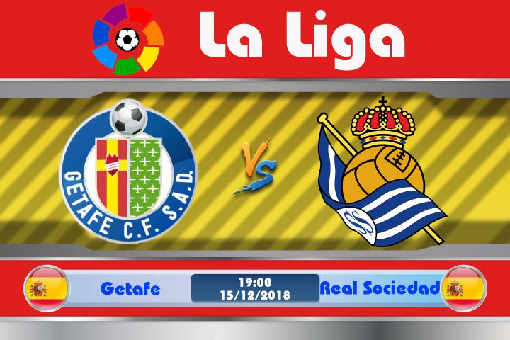 Soi kèo Getafe vs Real Sociedad 19h00 ngày 15/12: Tiếp tục bắt nạt