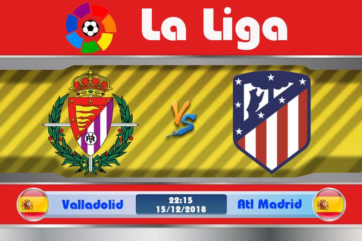 Soi kèo Valladolid vs Atletico Madrid 22h15 ngày 15/12: Quá khứ chưa dứt
