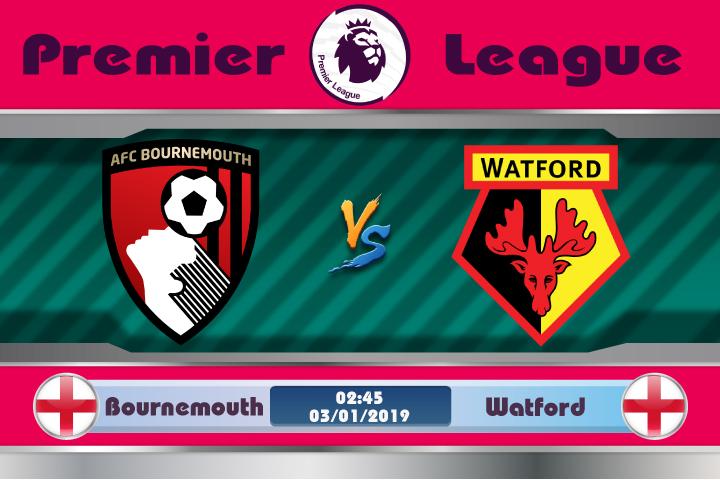 Soi kèo Bournemouth vs Watford 02h45 ngày 03/01: Nỗi đau khôn nguôi