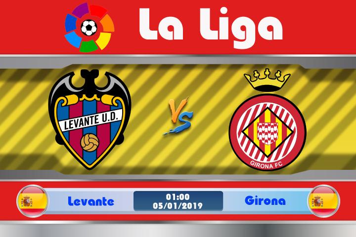 Soi kèo Levante vs Girona 01h00 ngày 05/01: Kết quả khó lường trước