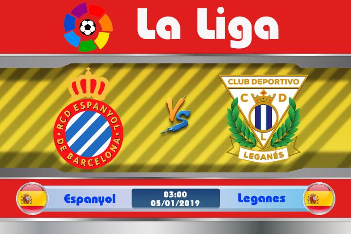 Soi kèo Espanyol vs Leganes 03h00 ngày 05/01: Phong độ trái ngược