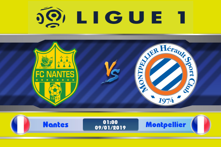 Soi kèo Nantes vs Montpellier 01h00 ngày 09/01: Phong độ thất thường