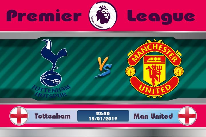Soi kèo Tottenham vs Manchester United 23h30 ngày 13/01: Thử lửa