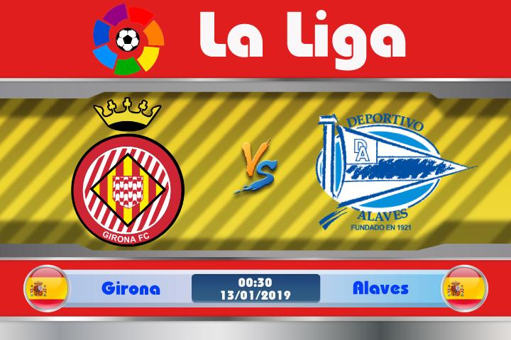 Soi kèo Girona vs Alaves 00h30 ngày 13/01: Lấy lại phong độ