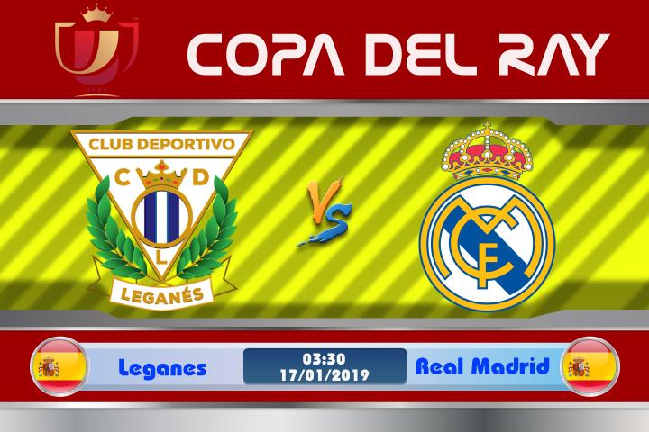 Soi kèo Leganes vs Real Madrid 03h30 ngày 17/01: Kền Kền bay vào tứ kết