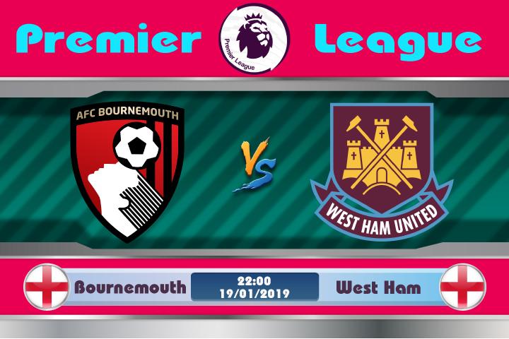 Soi kèo Bournemouth vs West Ham 22h00 ngày 19/01: Dư âm chiến thắng