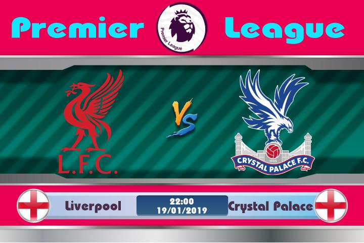 Soi kèo Liverpool vs Crystal Palace 22h00 ngày 19/01: Không còn gặp may