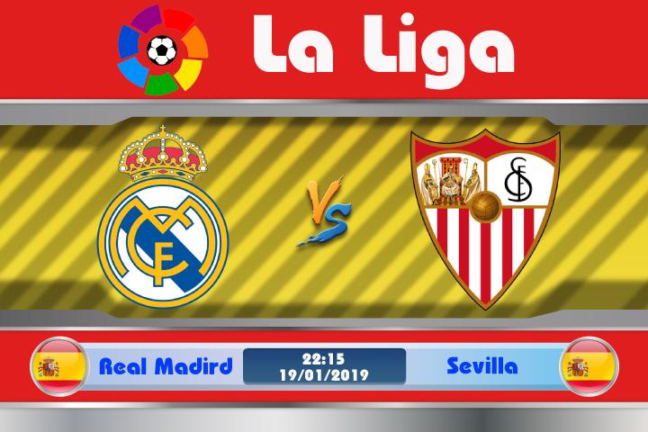 Soi kèo Real Madrid vs Sevilla 22h15 ngày 19/01: Ám ảnh vùng đất chết