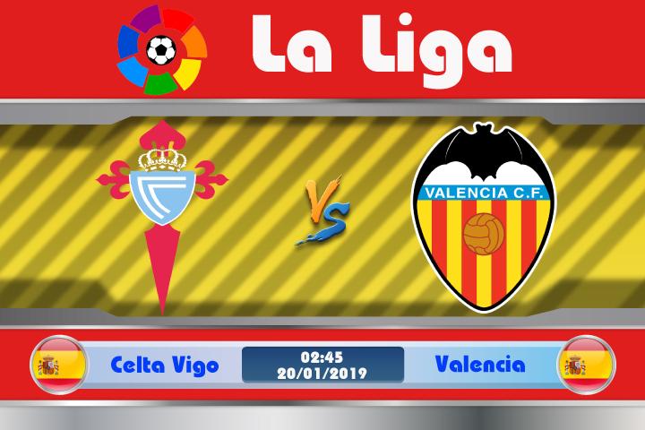Soi kèo Celta Vigo vs Valencia 02h45 ngày 20/01: Chiến thắng không dễ