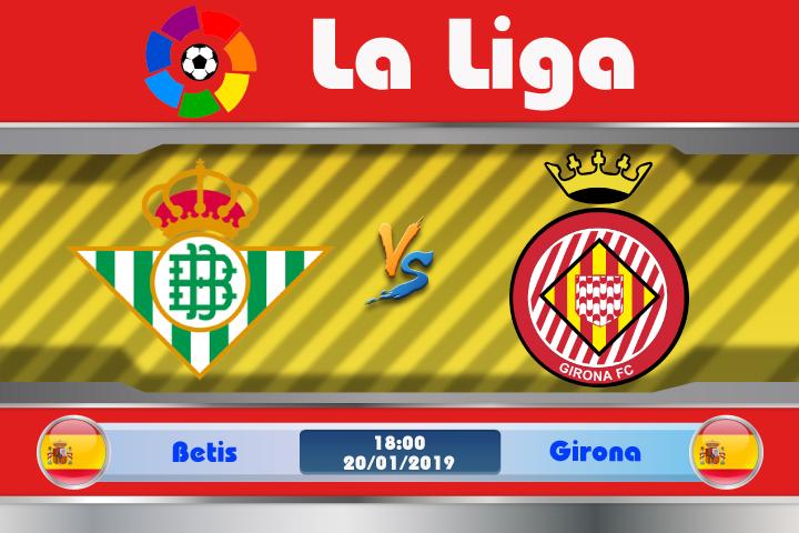 Soi kèo Betis vs Girona 18h00 ngày 20/01: Đón tiếp đối thủ ưa thích