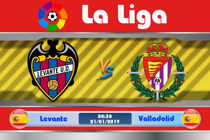 Soi kèo Levante vs Valladolid 00h30 ngày 21/01: Vượt qua sóng gió