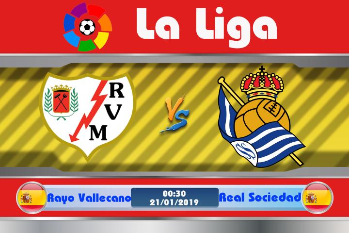 Soi kèo Rayo Vallecano vs Real Sociedad 00h30 ngày 21/01: Hiểm họa tìm ẩn