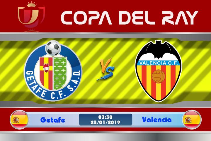 Soi kèo Getafe vs Valencia 03h30 ngày 23/01: Không thể khinh địch