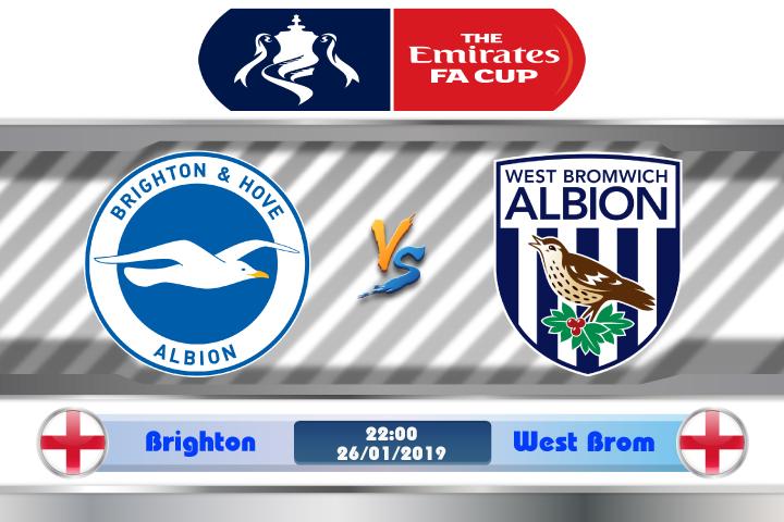 Soi kèo Brighton vs West Brom 22h00 ngày 26/01: Quá khứ còn đó