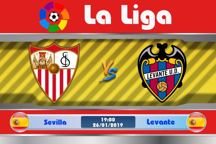 Soi kèo Sevilla vs Levante 19h00 ngày 26/01: Phong độ chỉ là nhất thời