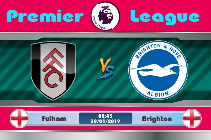 Soi kèo Fulham vs Brighton 02h45 ngày 30/01: Quên đi quá khứ