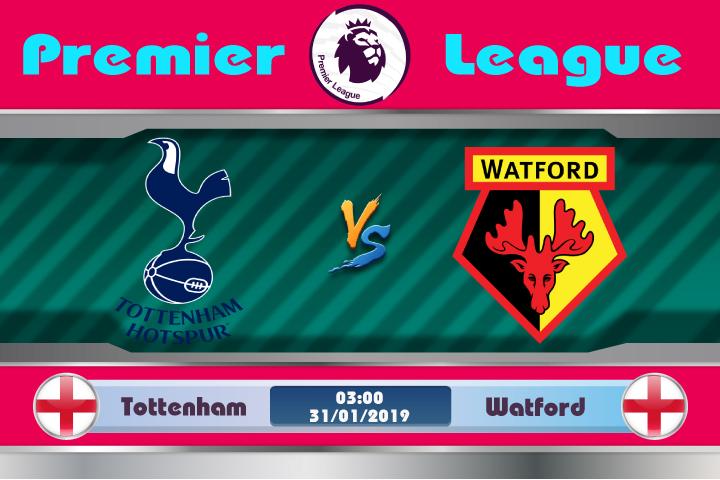 Soi kèo Tottenham vs Watford 03h00 ngày 31/01: Phong độ hay đẳng cấp