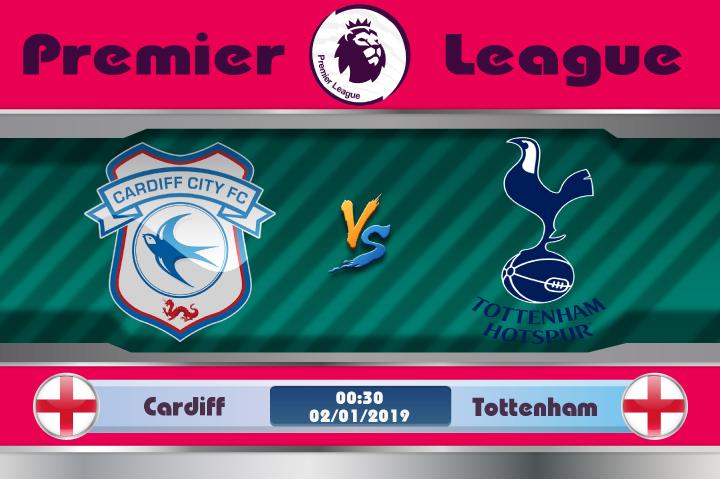 Soi kèo Cardiff vs Tottenham 00h30 ngày 02/01: Năm mới đầy giận dữ