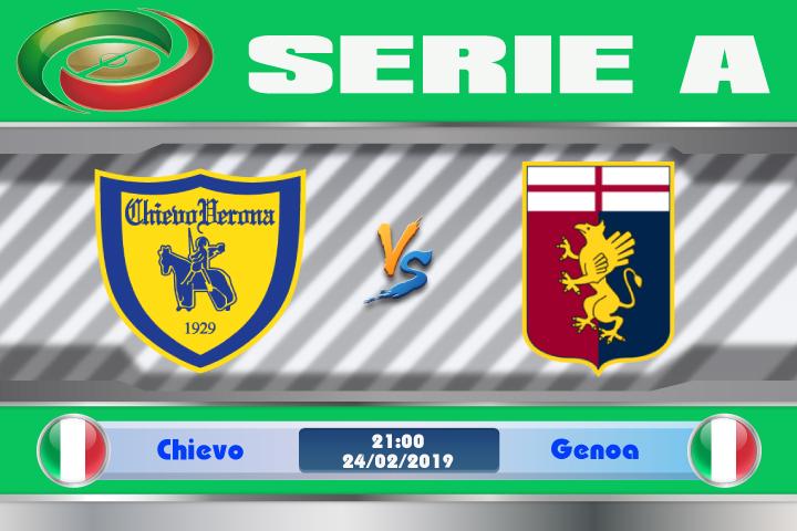 Soi kèo Chievo vs Genoa 21h00 ngày 24/02: Cơ hội để ghi điểm