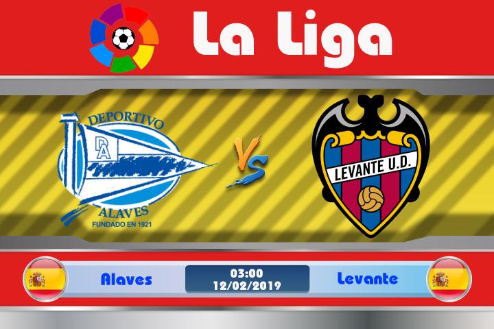 Soi kèo Alaves vs Levante 03h00 ngày 12/02: Chấm dứt cơn khủng hoảng
