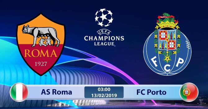 Soi kèo AS Roma vs Porto 03h00 ngày 13/02: Chấm dứt đau thương