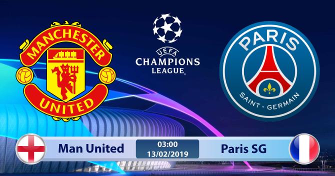 Soi kèo Manchester United vs Paris SG 03h00 ngày 13/02: Quỷ Đỏ phủ đầu