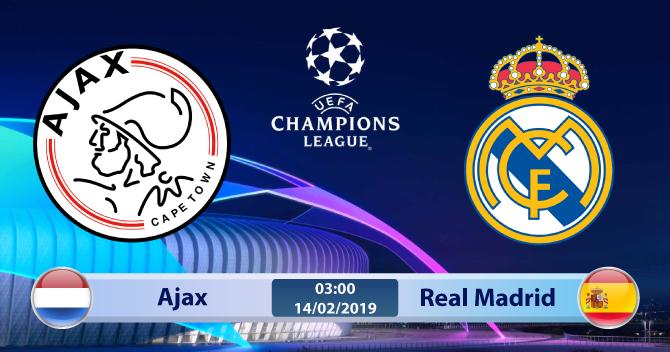 Soi kèo Ajax vs Real Madrid 03h00 ngày 14/02: Con mồi quen thuộc