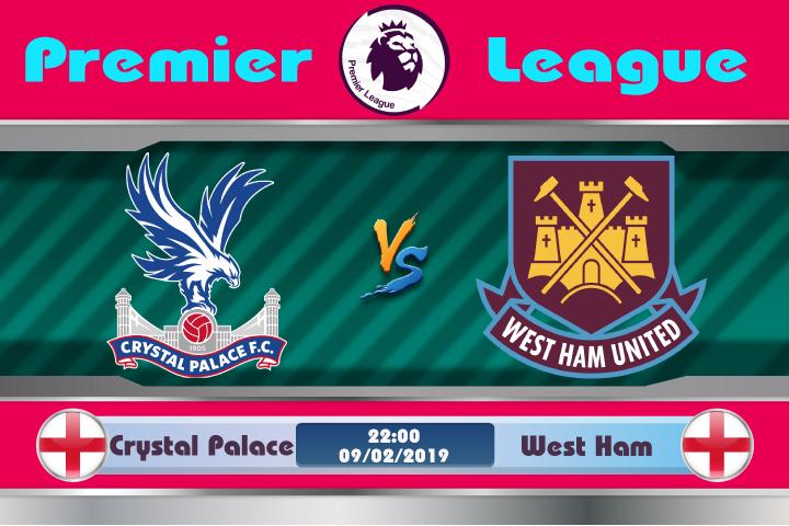 Soi kèo Crystal Palace vs West Ham 22h00 ngày 09/02: Bại binh phục hận