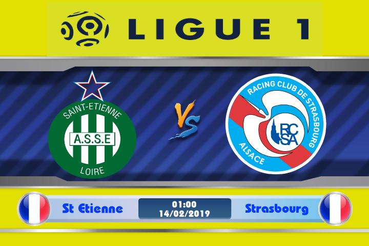 Soi kèo St Etienne vs Strasbourg 01h00 ngày 14/02: Phong độ sa sút