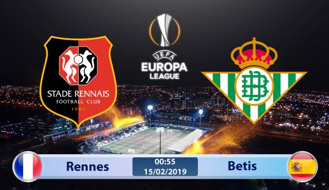 Soi kèo Rennes vs Betis 00h55 ngày 15/02: Hành quân không đúng lúc
