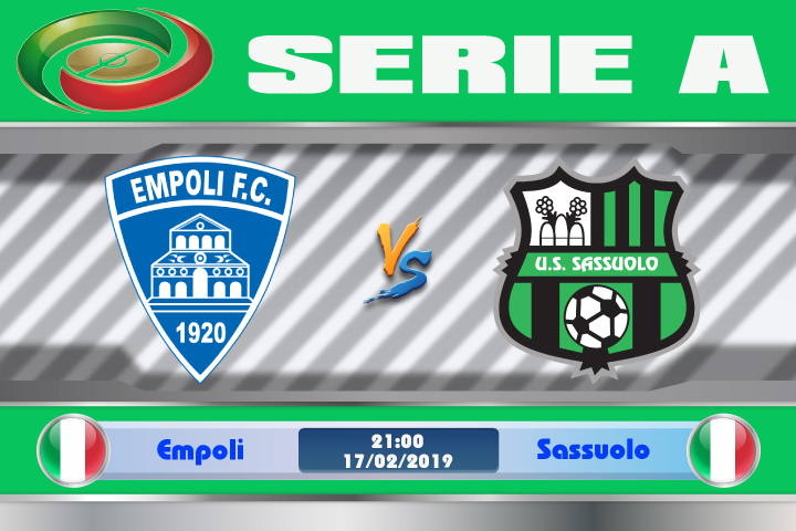Soi kèo Empoli vs Sassuolo 21h00 ngày 17/02: Đối thủ ưa thích