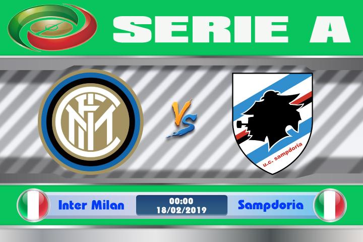 Soi kèo Inter Milan vs Sampdoria 00h00 ngày 18/02: Tiếp đà thăng hoa