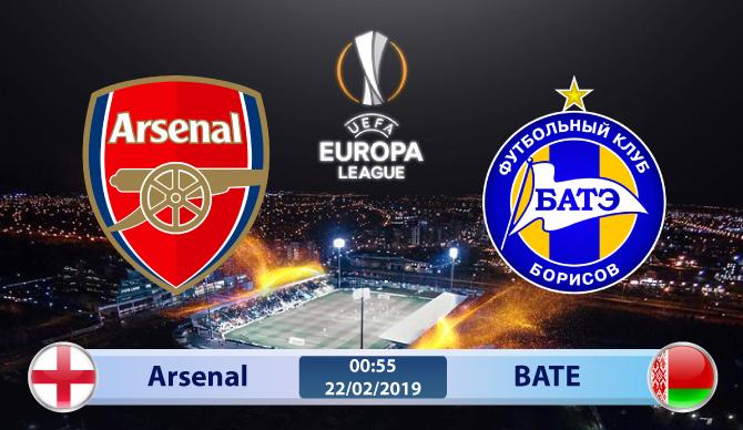 Soi kèo Arsenal vs BATE 00h55 ngày 22/02: Tử thủ để tạo nên kỳ tích
