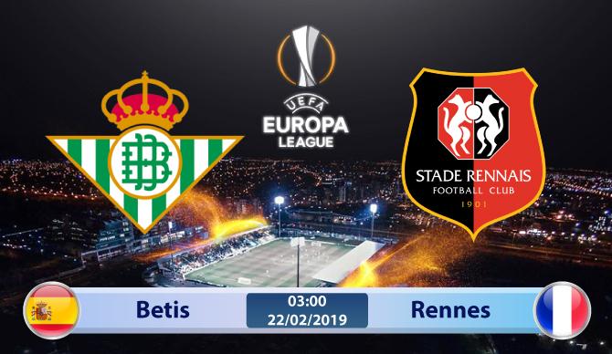 Soi kèo Betis vs Rennes 03h00 ngày 22/02: Bắt buộc phải thắng