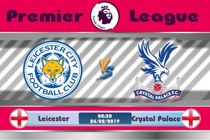 Soi kèo Leicester vs Crystal Palace 00h30 ngày 24/02: Không ngại xa nhà