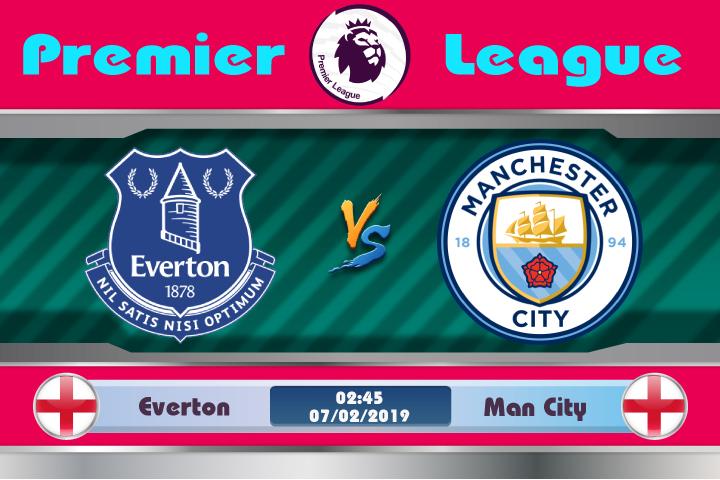 Soi kèo Everton vs Man City 02h45 ngày 07/02: Chạm mặt nhà vô địch