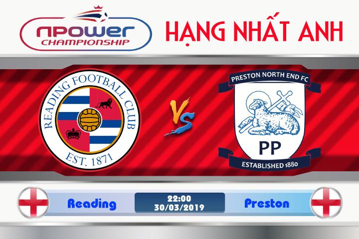 Soi kèo Reading vs Preston 22h00 ngày 30/03: Không ngại còn đất khách Soi kèo Reading vs Preston 22h00 ngày 30/03: Không ngại còn đất khách