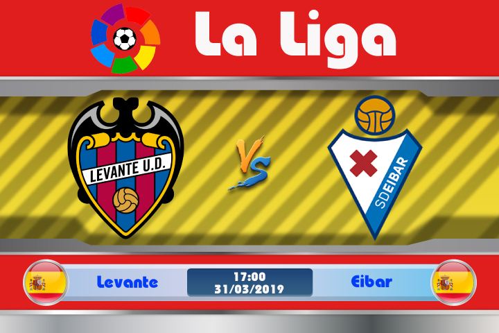 Soi kèo Levante vs Eibar 17h00 ngày 31/03: Tâm lý nặng nề