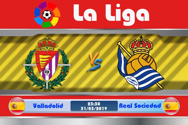 Soi kèo Valladolid vs Real Sociedad 23h30 ngày 31/03: Vượt qua thử thách