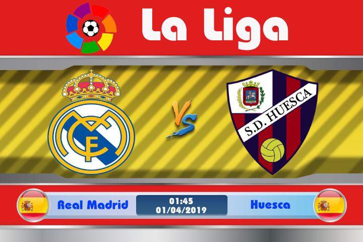 Soi kèo Real Madrid vs Huesca 01h45 ngày 01/04: Niềm kiêu hãnh trở lại
