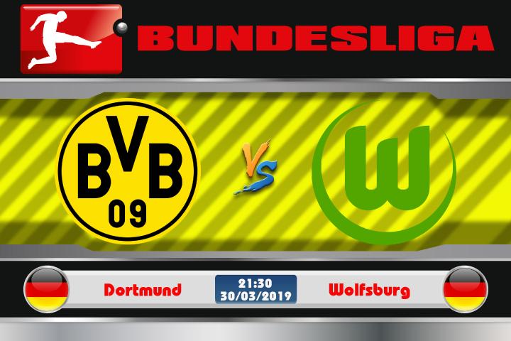 Soi kèo Dortmund vs Wolfsburg 21h30 ngày 30/03: Đối thủ khó nhai
