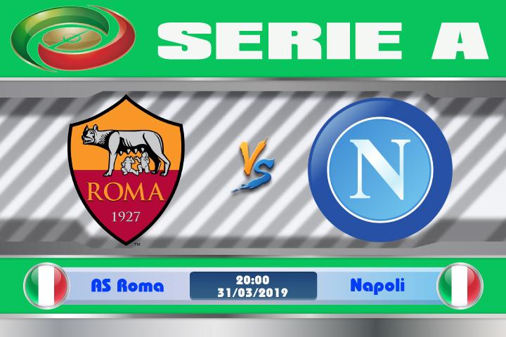 Soi kèo AS Roma vs Napoli 20h00 ngày 31/03: Kỳ phùng địch thủ
