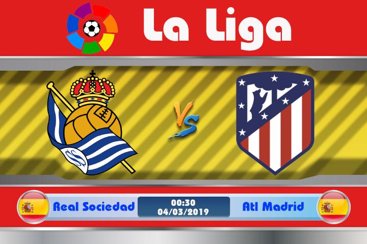 Soi kèo Real Sociedad vs Atletico Madrid 00h30 ngày 04/03: Nhọc nhằn