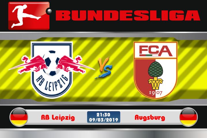 Soi kèo RB Leipzig vs Augsburg 21h30 ngày 09/03: Không thể chủ quan